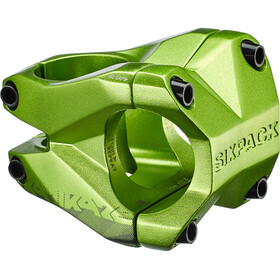 Sixpack Kamikaze Attacco manubrio Ø31,8mm, electric green